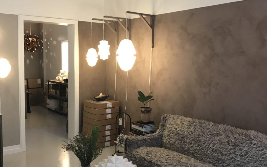Invitation til reception // Sonobe Light butik og studio