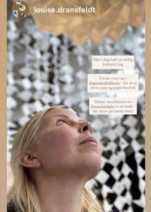 Light in Life installationen, Pap og Papirfestival i Vejle 2020